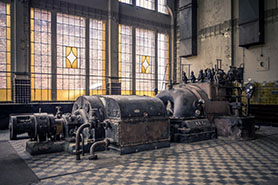 Abandoned Industrial Equipment