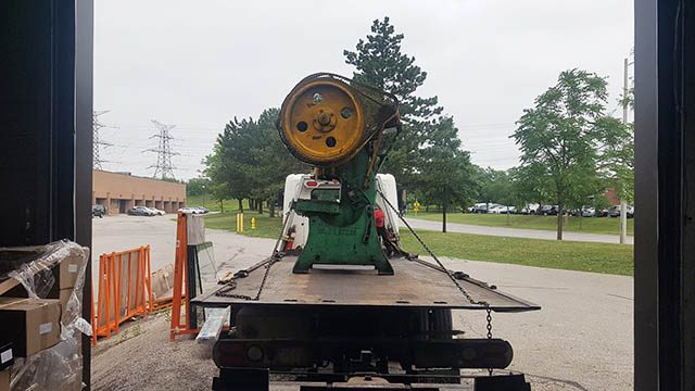 Heavy Equipment Removal