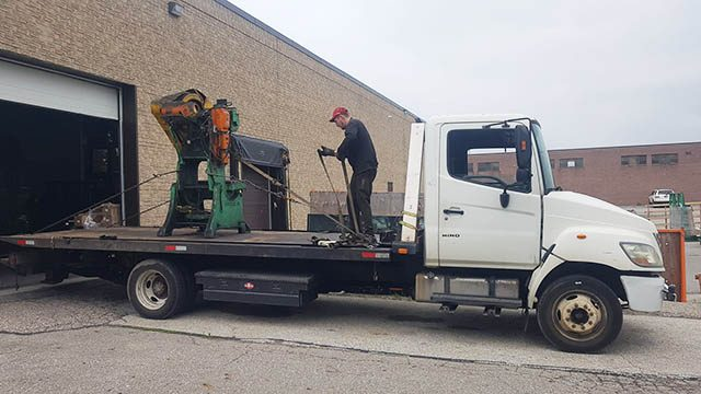 Old Factory Equipment Removal